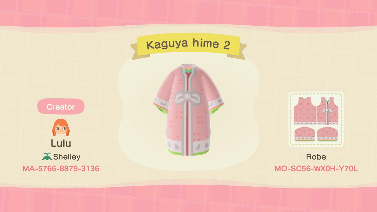 Kaguya hime 2 - Animal Crossing: New Horizons Custom Design
