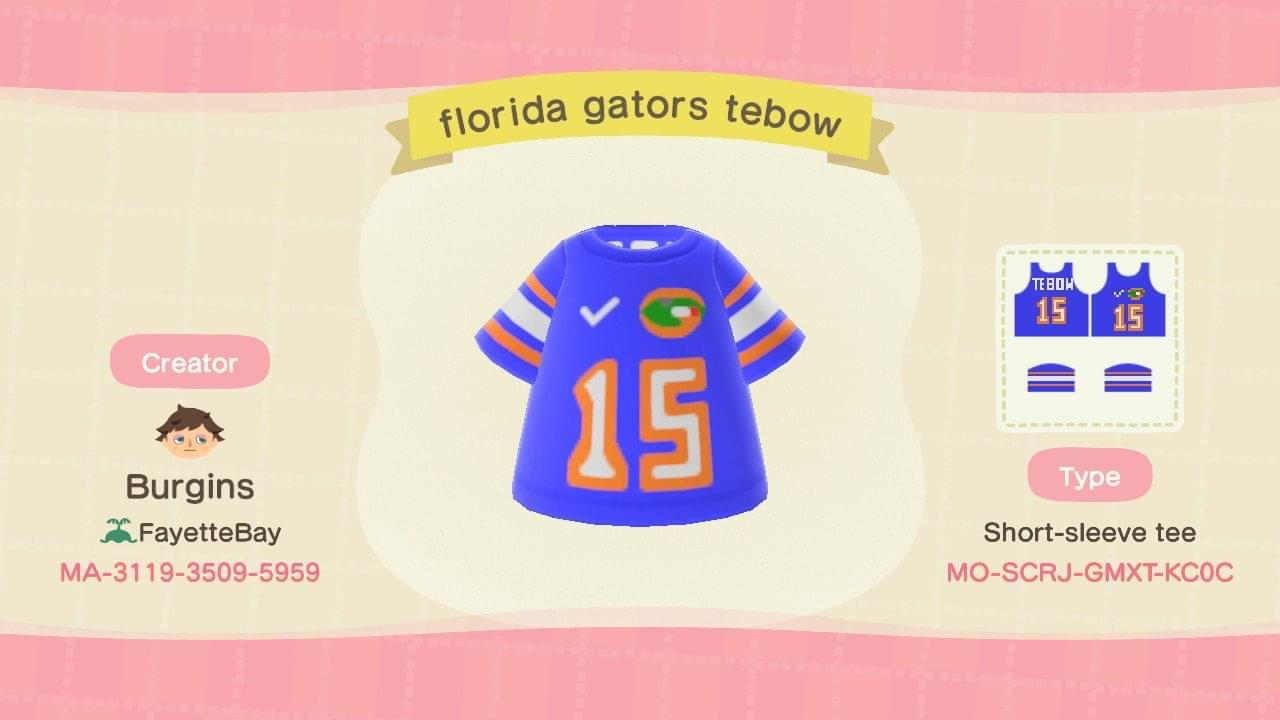 Florida Gators Tebow