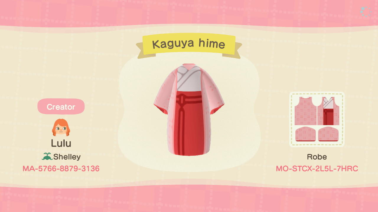 Kaguya hime - Animal Crossing: New Horizons Custom Design