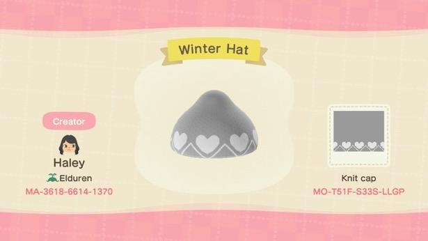 Winter Hat - Animal Crossing: New Horizons Custom Design