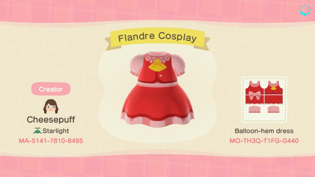 Touhou Flandre - Animal Crossing: New Horizons Custom Design