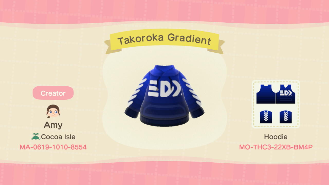 Takoroka Gradient - Animal Crossing: New Horizons Custom Design