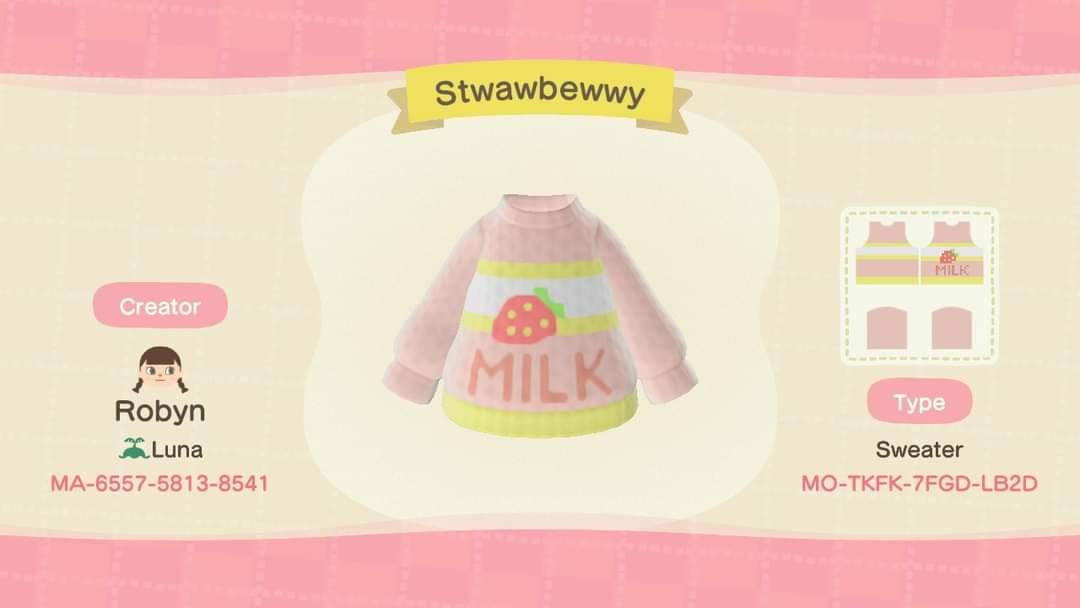 Stwawbewwy - Animal Crossing: New Horizons Custom Design
