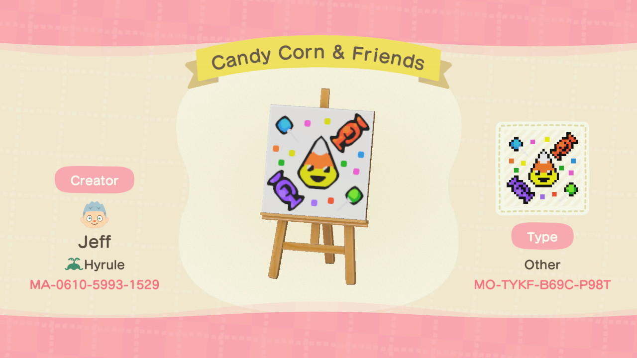 Candy Corn & Friends - Animal Crossing: New Horizons Custom Design
