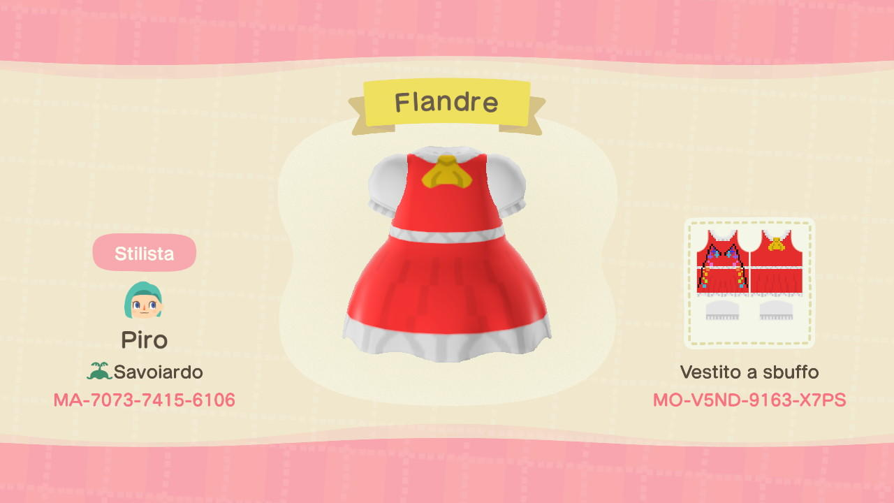 Flandre - Animal Crossing: New Horizons Custom Design
