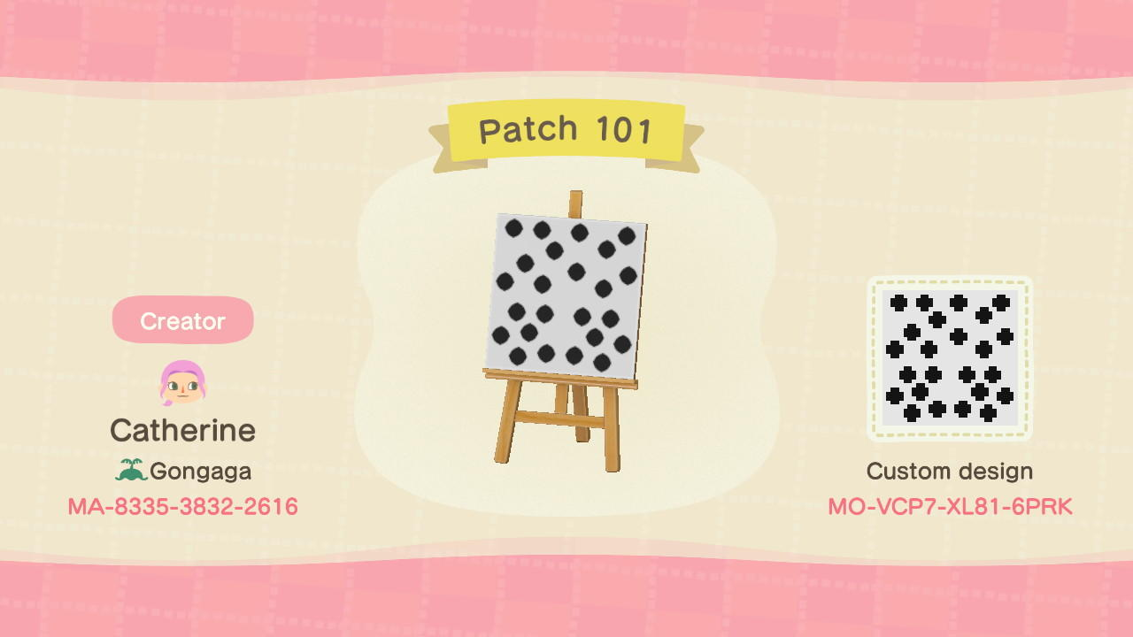Patch 101 - Animal Crossing: New Horizons Custom Design