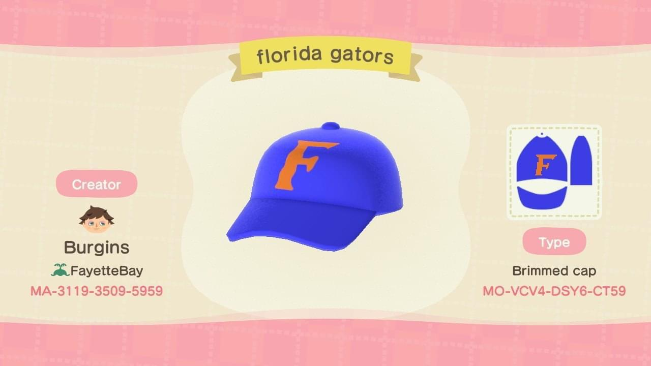 Florida Gators hat