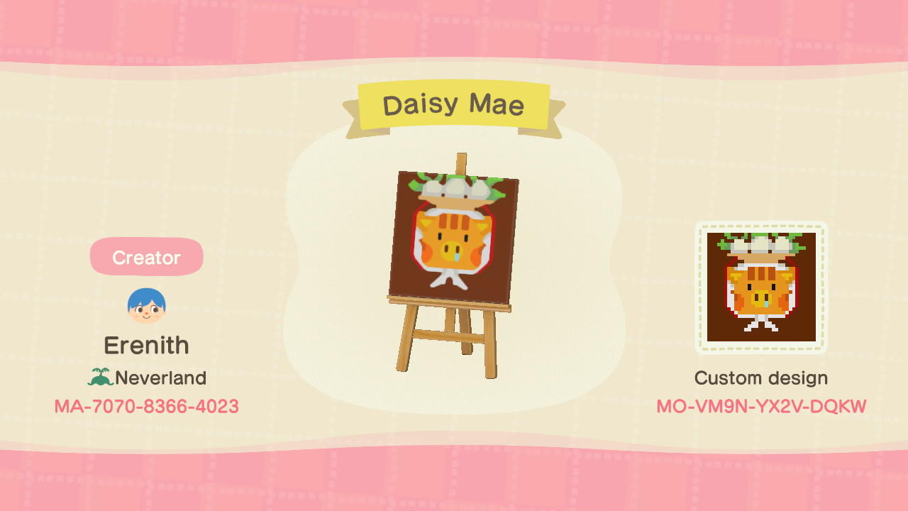 Daisy Mae - Animal Crossing: New Horizons Custom Design