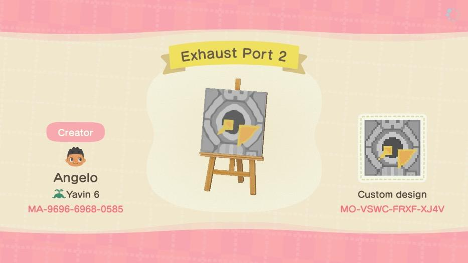 Exhaust Port 2 - Animal Crossing: New Horizons Custom Design