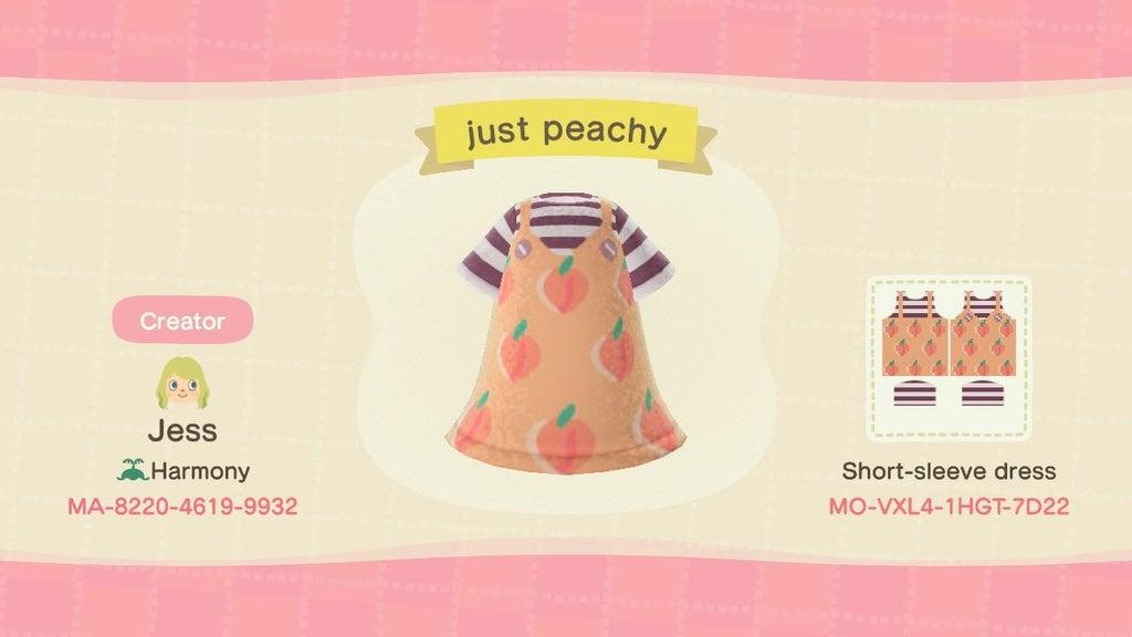just peachy - Animal Crossing: New Horizons Custom Design