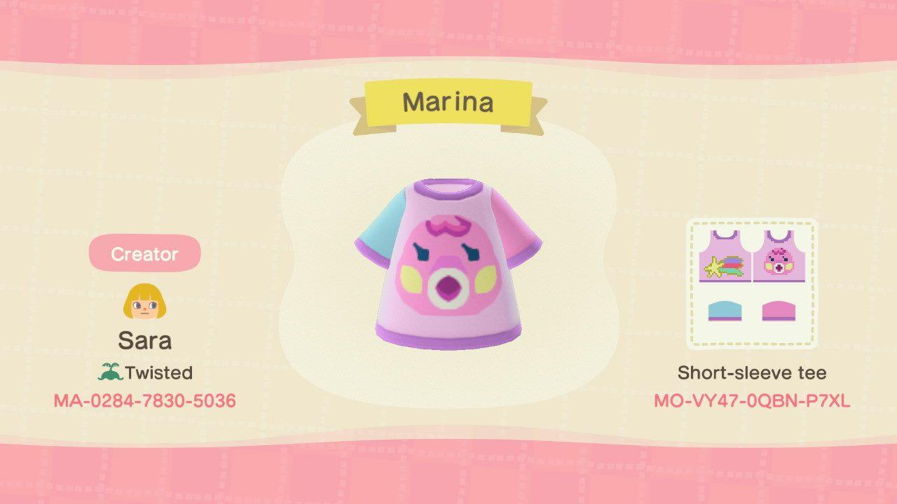 Marina - Animal Crossing: New Horizons Custom Design