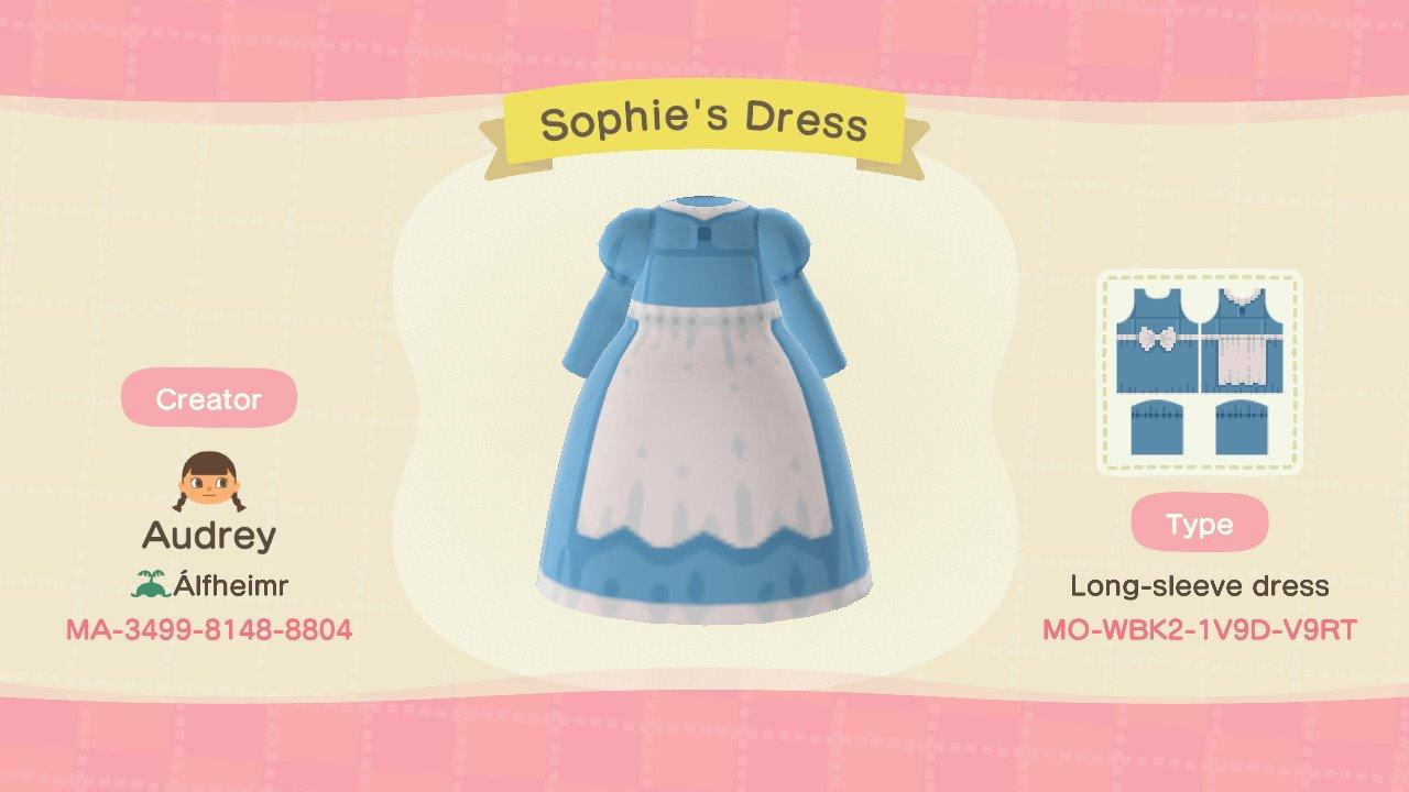 Sophie's Dress - Animal Crossing: New Horizons Custom Design