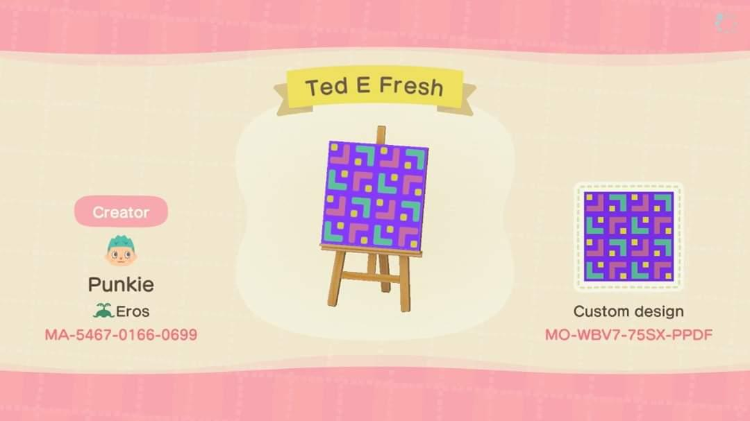 Ted E Fresh - Animal Crossing: New Horizons Custom Design