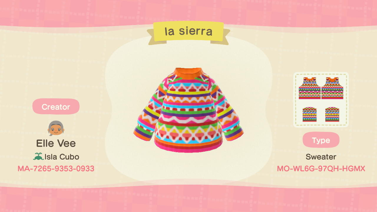 la sierra - Animal Crossing: New Horizons Custom Design