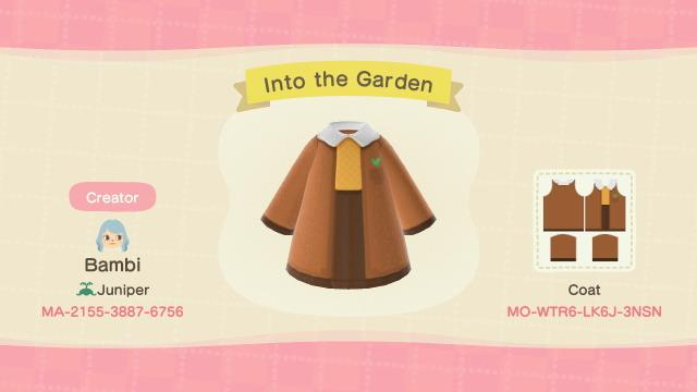 Into the Garden - Animal Crossing: New Horizons Custom Design