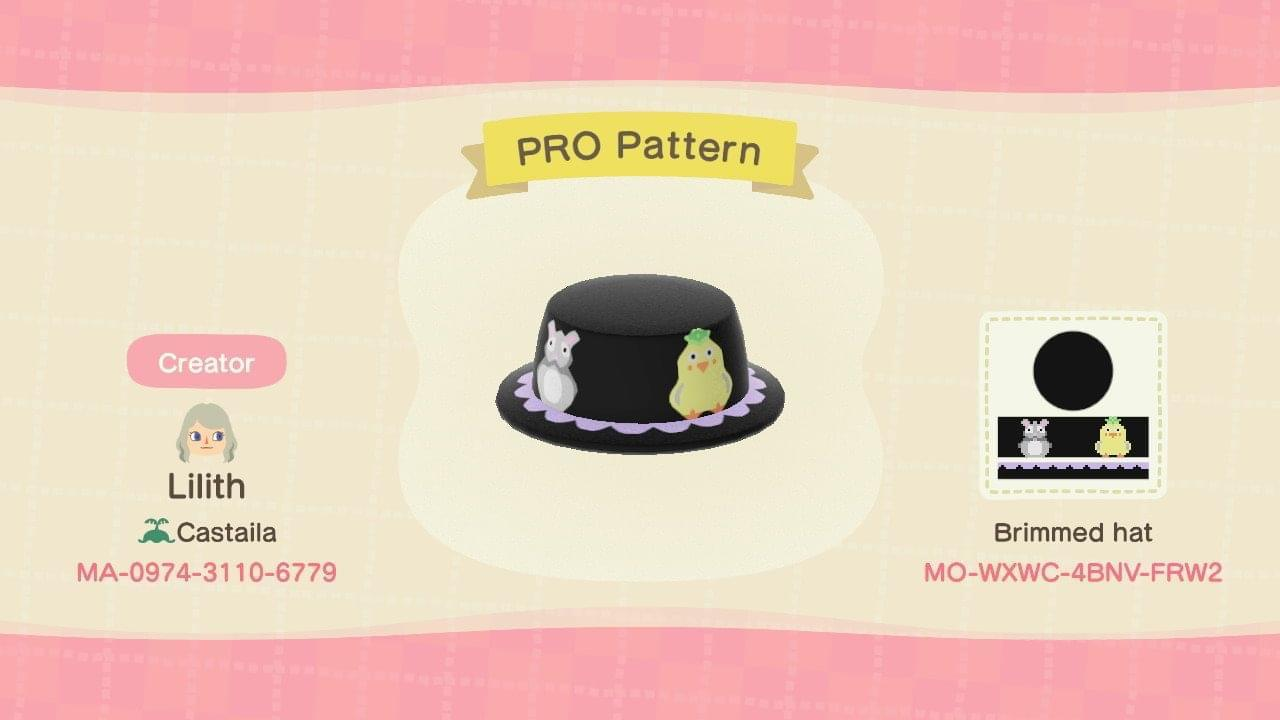 Spirited Away Hat Animal Crossing New Horizons Custom Design Nook S Island