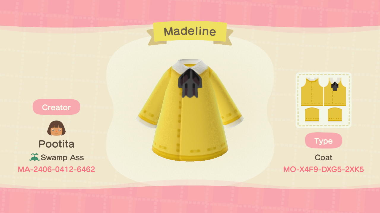 Madeline - Animal Crossing: New Horizons Custom Design