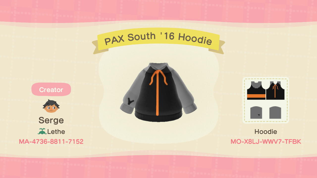PAX South 16 Hoodie - Animal Crossing: New Horizons Custom Design