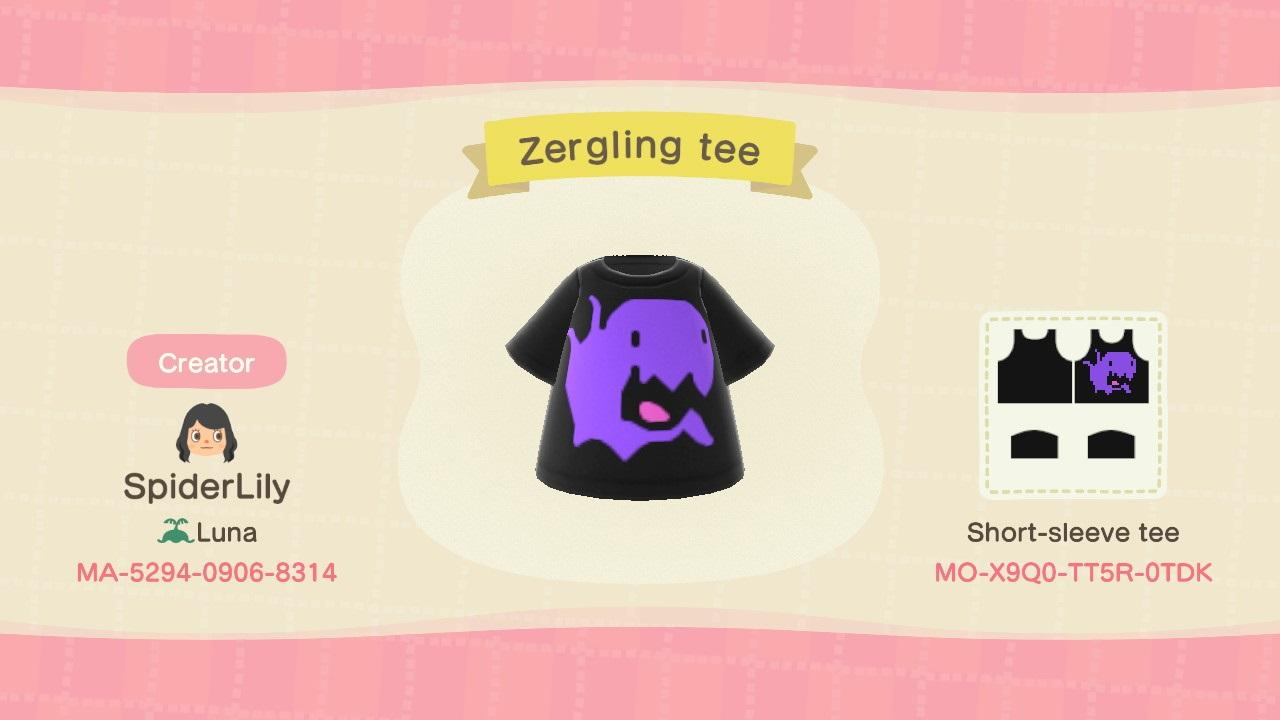 Zergling Tee - Animal Crossing: New Horizons Custom Design