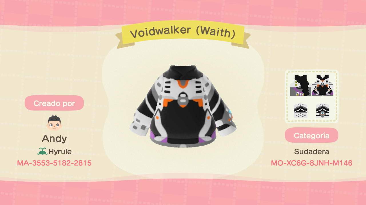 Voidwalker (Wraith)  - Animal Crossing: New Horizons Custom Design