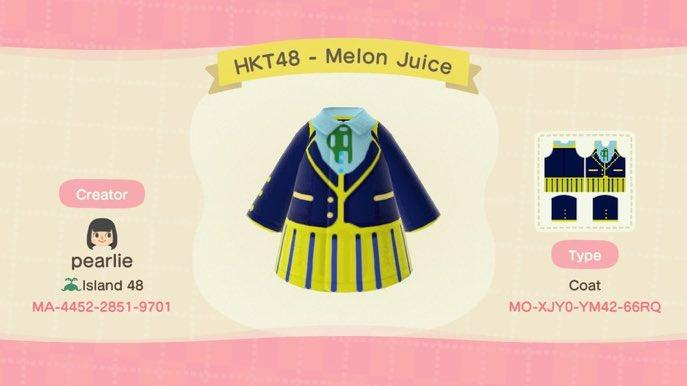 Melon Juice - HKT48 - Animal Crossing: New Horizons Custom Design