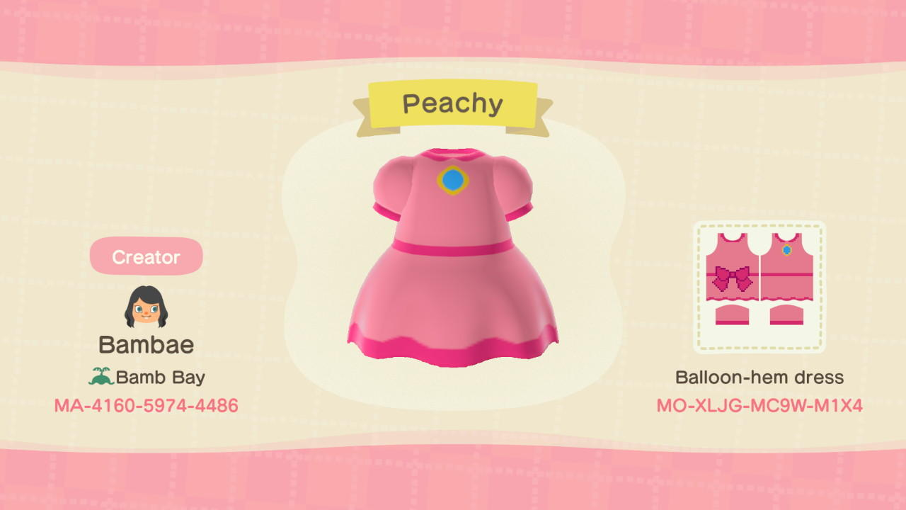 Peachy - Animal Crossing: New Horizons Custom Design
