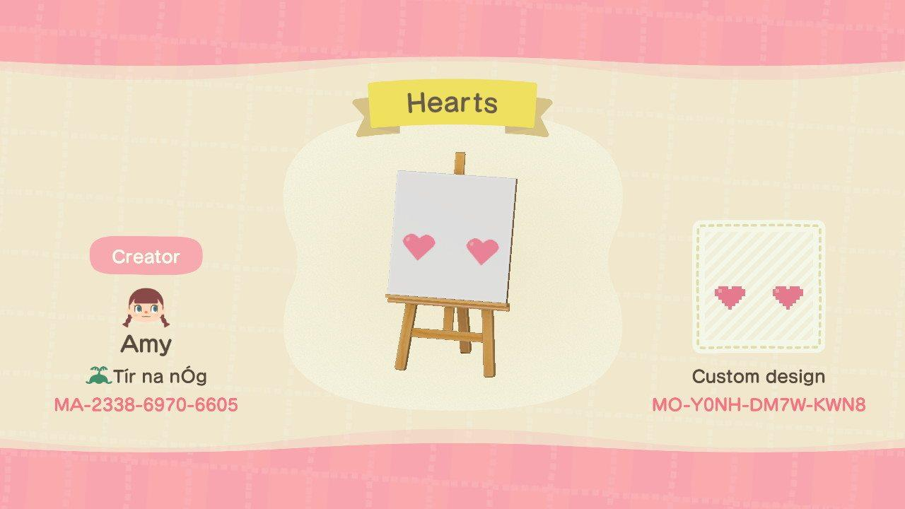 Hearts - Animal Crossing: New Horizons Custom Design