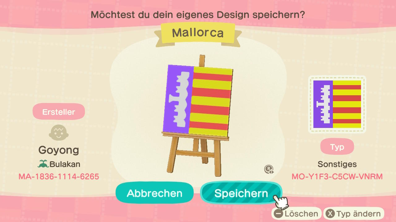 Mallorca - Animal Crossing: New Horizons Custom Design