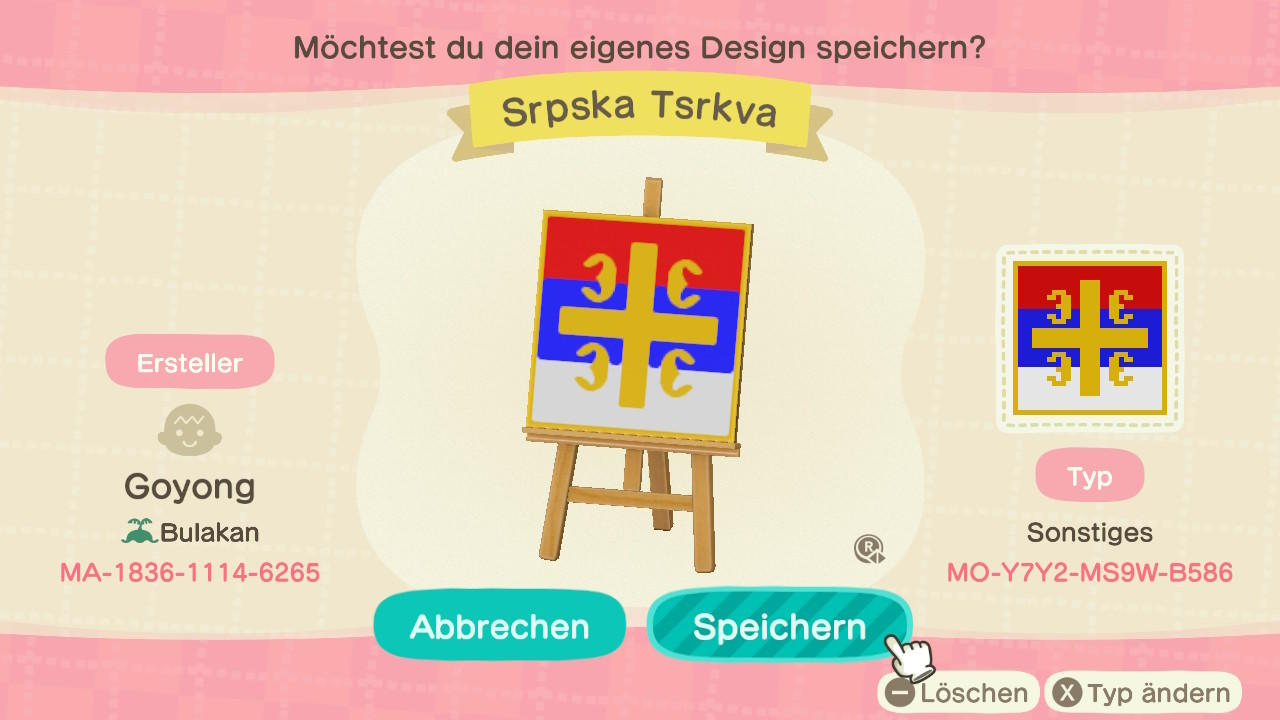 Serbian Church - Animal Crossing: New Horizons Custom Design