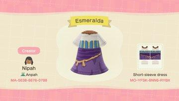 Esmeralda - Animal Crossing: New Horizons Custom Design