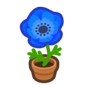 blue-windflower plant - Animal Crossing Item For Sale
