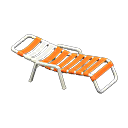 beach chair - Animal Crossing Item For Sale