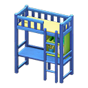 Loft Bed With Desk - Animal Crossing: New Horizons