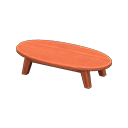Wooden Low Table - Animal Crossing: New Horizons